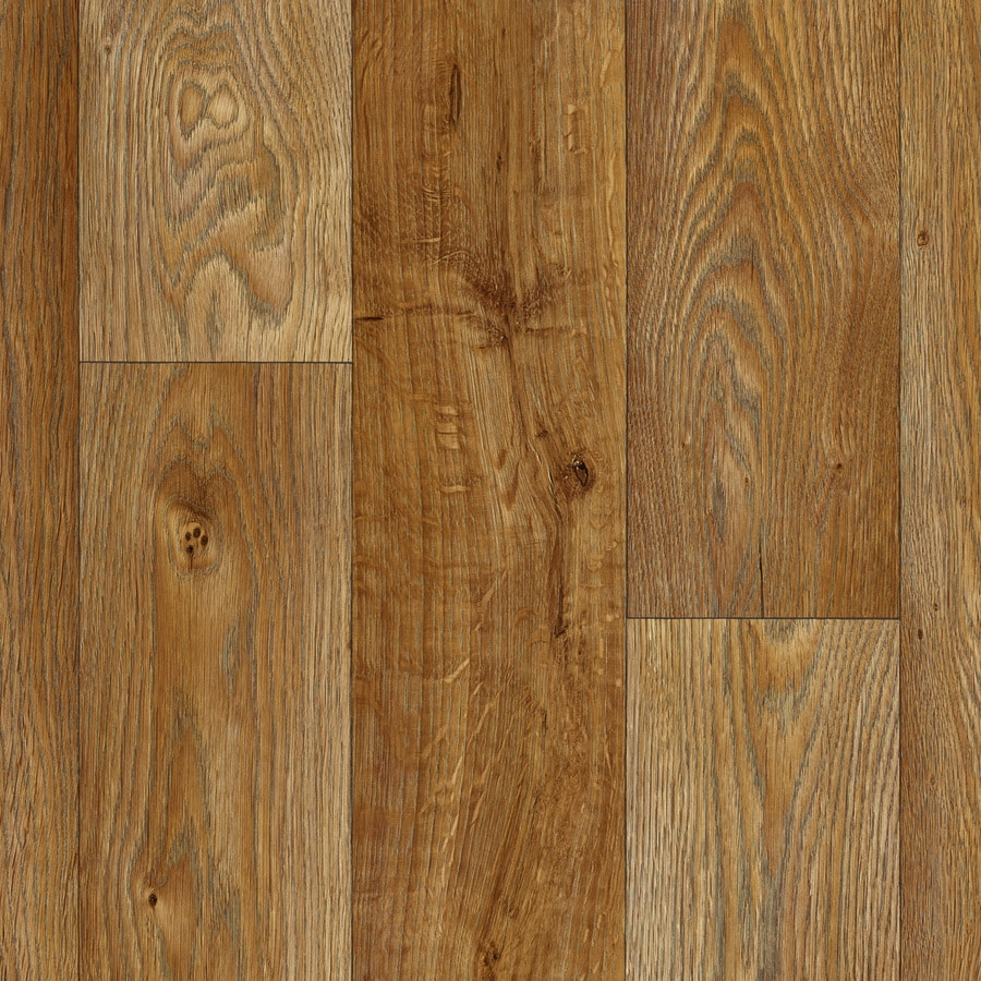 IVC Inspire 13.167-ft W Aspin 845 Wood-Look Low-Gloss Finish Sheet Vinyl