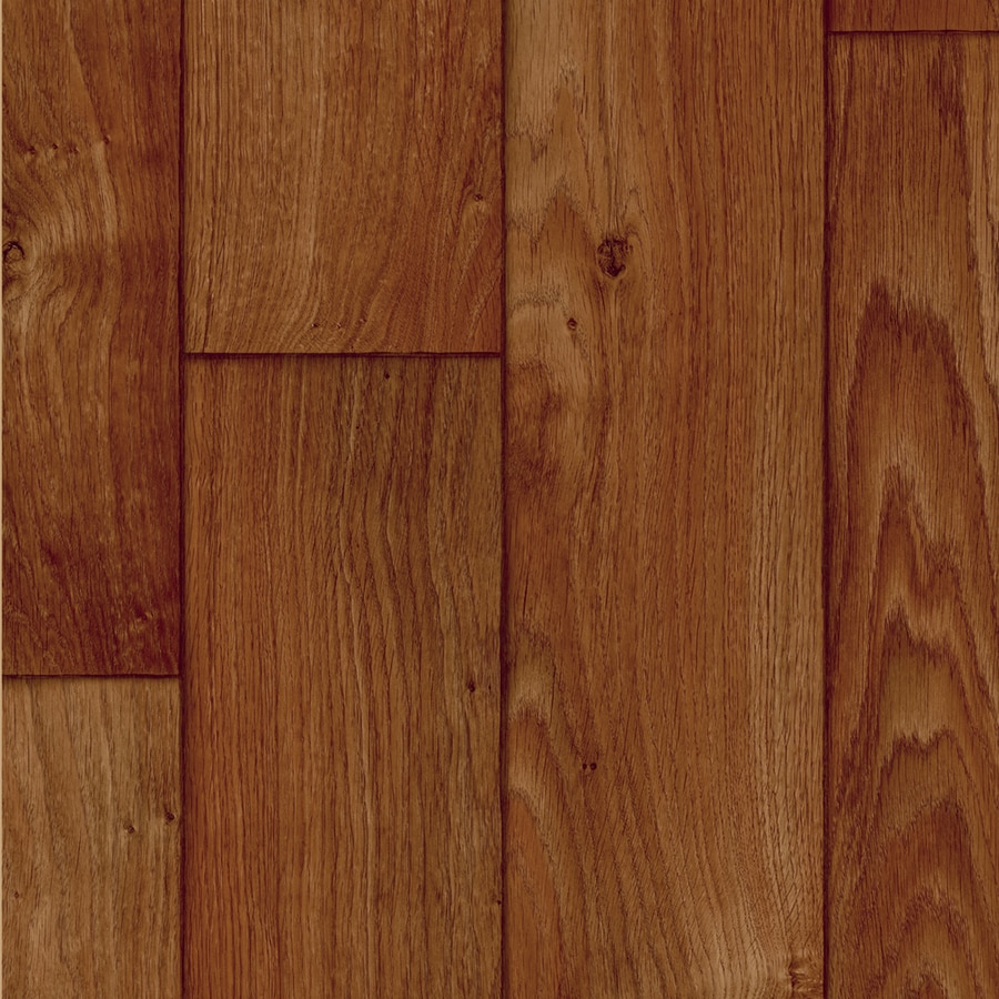 IVC Inspire 13.167-ft W Borneo 844 Wood-Look Low-Gloss Finish Sheet Vinyl