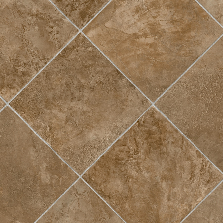 Shop ivc illusions w nebraska 943 tile low gloss for Sheet vinyl flooring