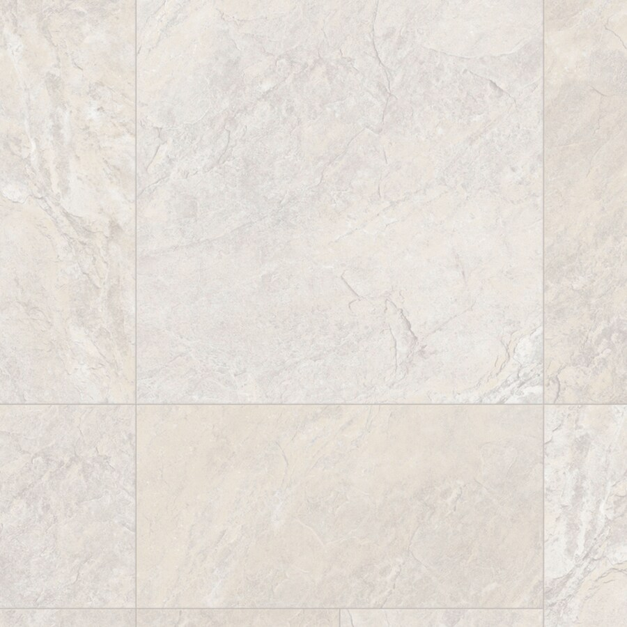 IVC Inspire 13.167-ft W Courage 931 Tile Low-Gloss Finish Sheet Vinyl