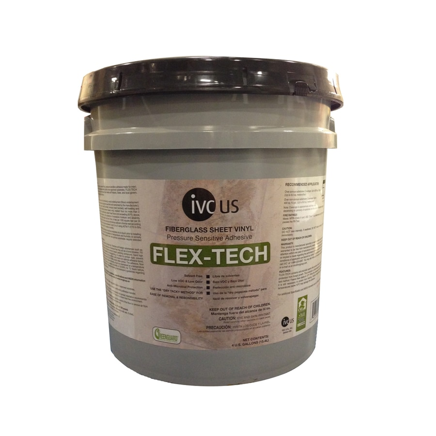 IVC Flex-Tech Clear Sheet Vinyl Flooring Adhesive (Actual Net Contents: 512-fl oz)