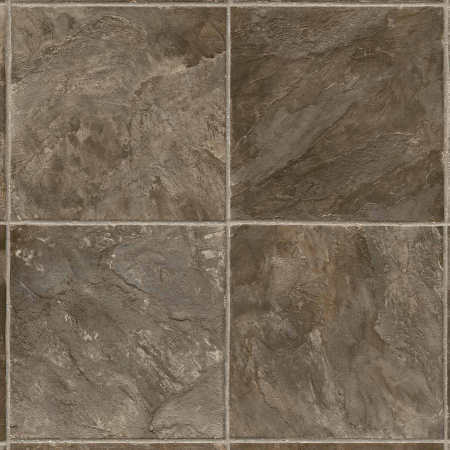 IVC 13.167-ft W Condor Slate 586 U Stone Low-Gloss Finish Sheet Vinyl