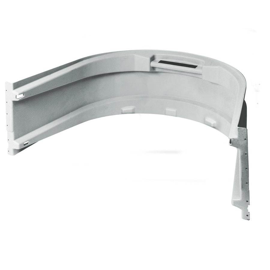 Wellcraft 43-in L x 61-in W x 20-3/4-in H Grey Modular Egress Window Well