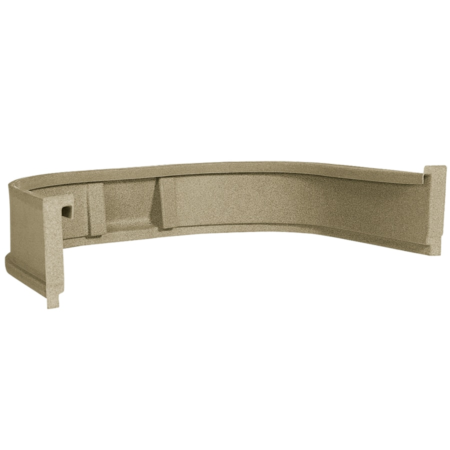 Wellcraft 45-in L x 78-in W x 12-in H Sandstone 12-in Window Well Extension
