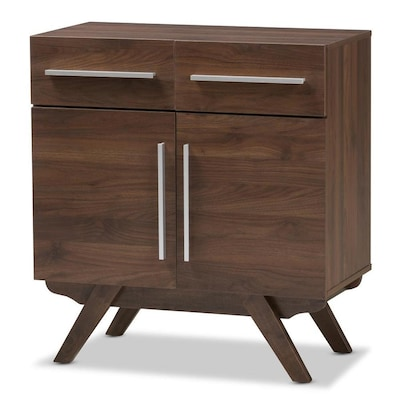Remarkable Baxton Studio Ashfield Walnut Sideboard At Lowes Com Ocoug Best Dining Table And Chair Ideas Images Ocougorg