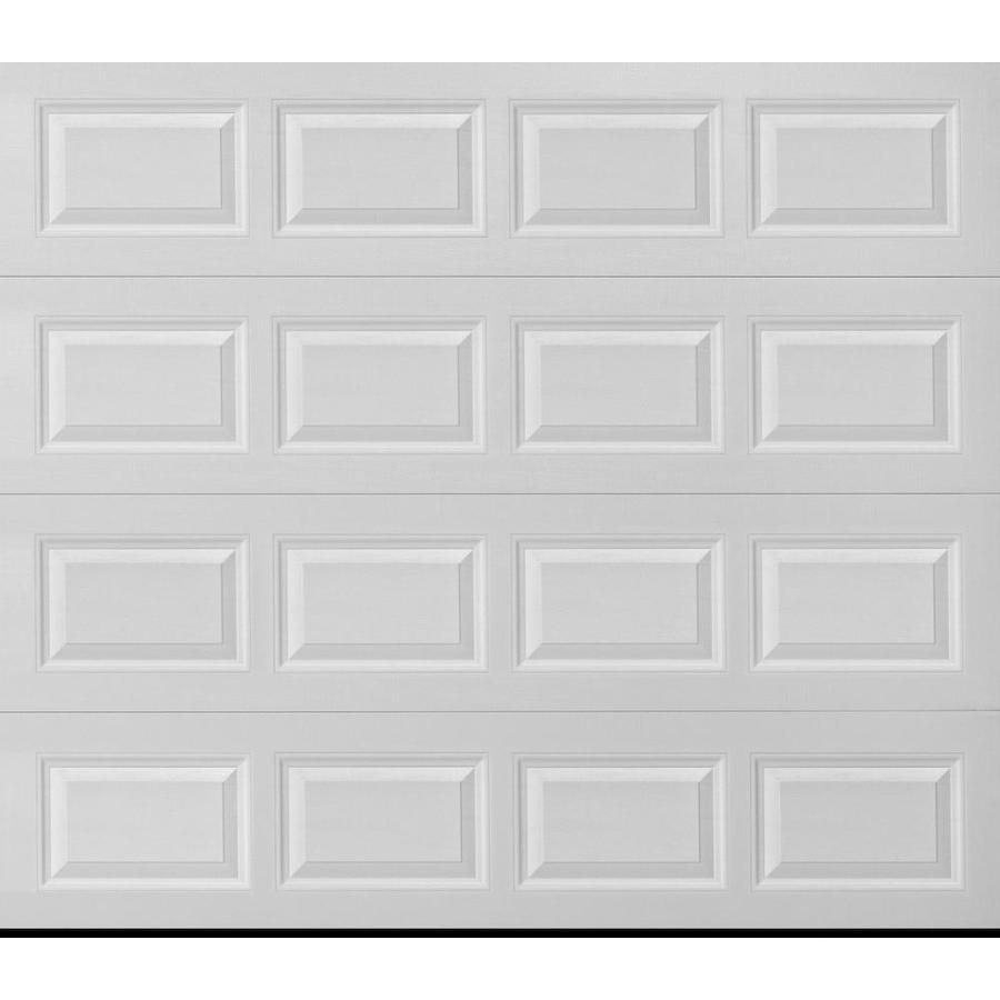 ReliaBilt Traditional Series 96-in x 84-in White Single Garage Door