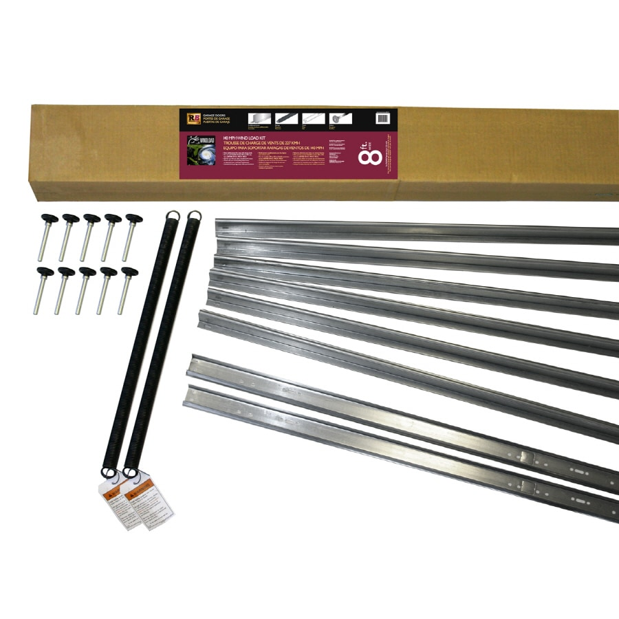 Reliabilt 8 Ft X 7 Ft Garage Door Wind Load Kit At Lowes Com