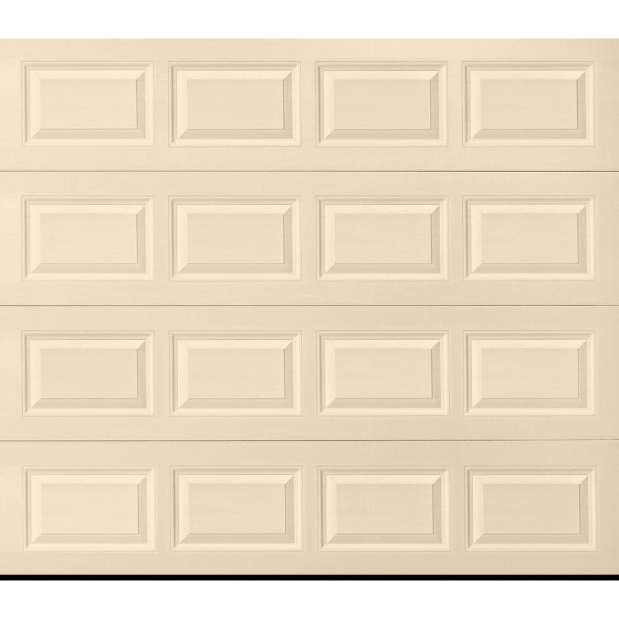 Pella Traditional Series 96-in x 84-in Almond Garage Door