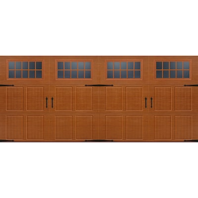 Double Garage Doors At Lowes Com