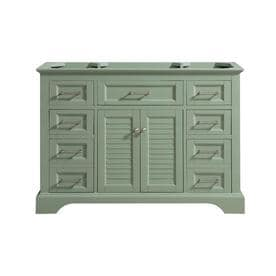 Superieur Avanity Colton 48 In Basil Green Bathroom Vanity Cabinet