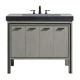 Avanity Dexter 43 In Rustic Gray Single Sink Bathroom Vanity With Granite Top