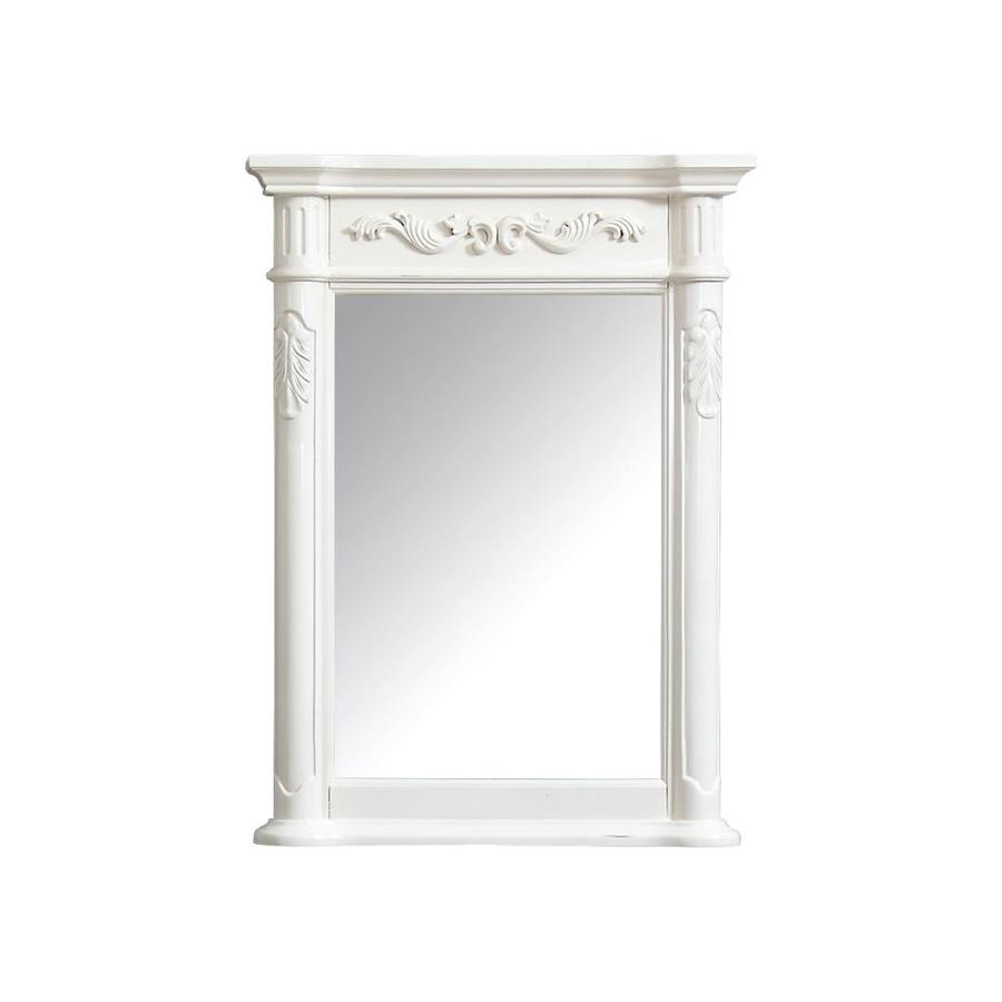 shop avanity avanity provence 24 in antique white 15415