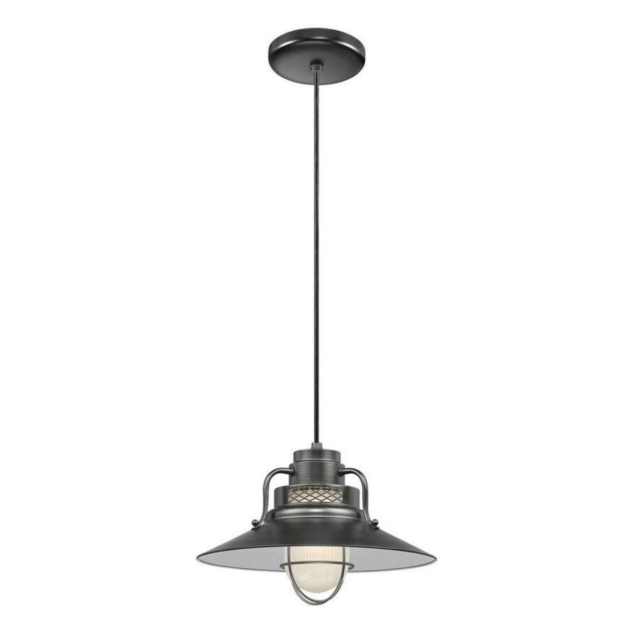 Original Warehouse Pendant Light: Millennium Lighting R Series Satin Black Mini Traditional