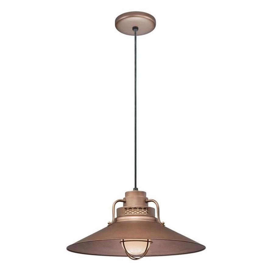 Original Warehouse Pendant Light: Millennium Lighting R Series Copper Mini Traditional