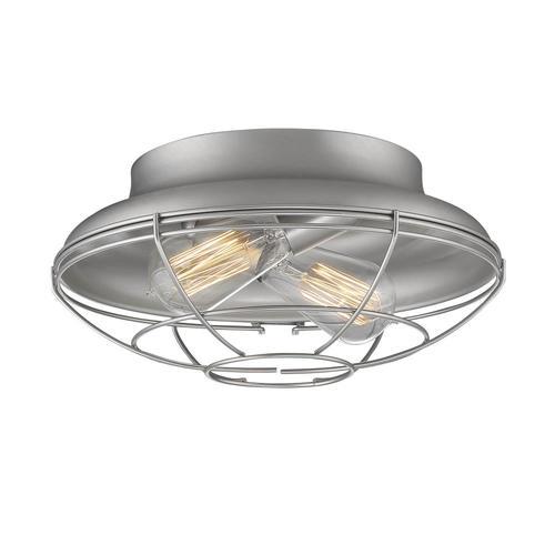 Millennium Lighting Neo-industrial 13-in Satin Nickel