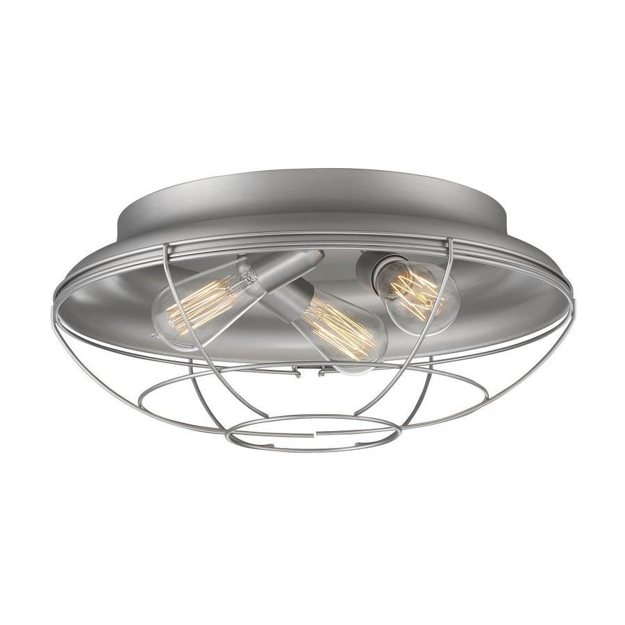 Millennium Lighting Neo-Industrial 18-in Satin Nickel