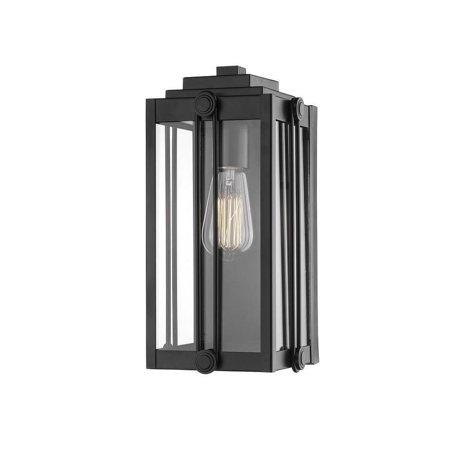 Millennium Lighting 13 In H Powder Coat Black Medium Base E 26 Outdoor Wall Light