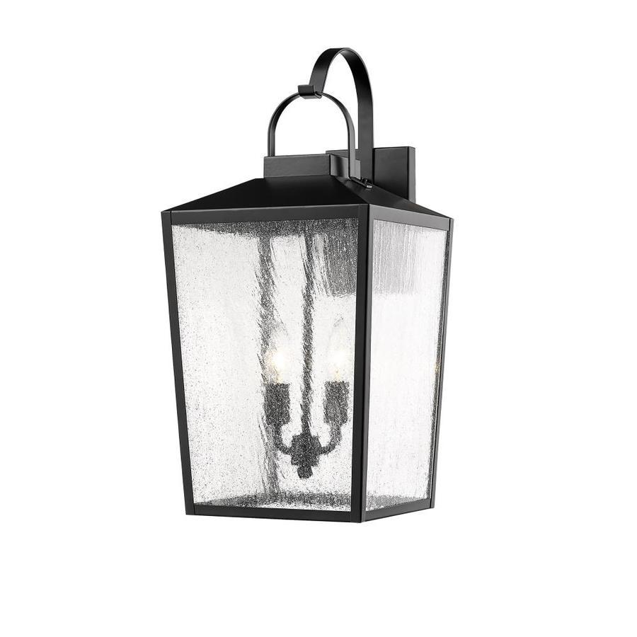 Millennium Lighting 22 In H Powder Coat Black Medium Base E 26 Outdoor Wall Light