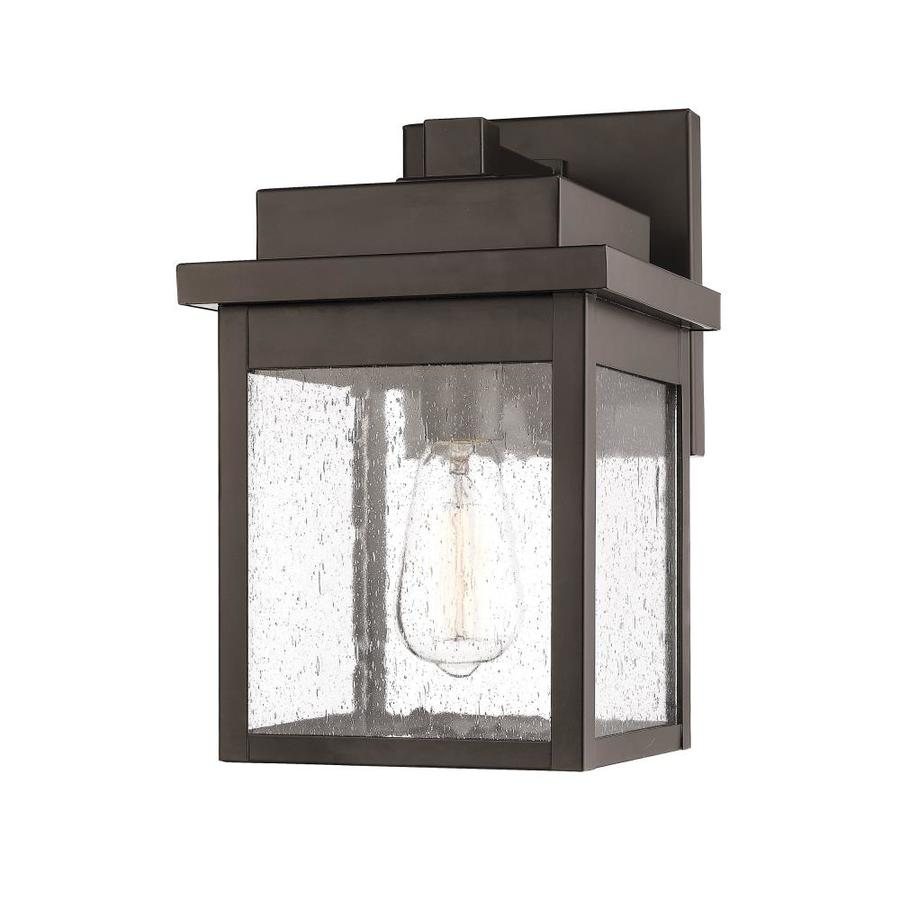 Millennium Lighting 8 In H Powder Coat Bronze Medium Base E 26 Outdoor Wall Light