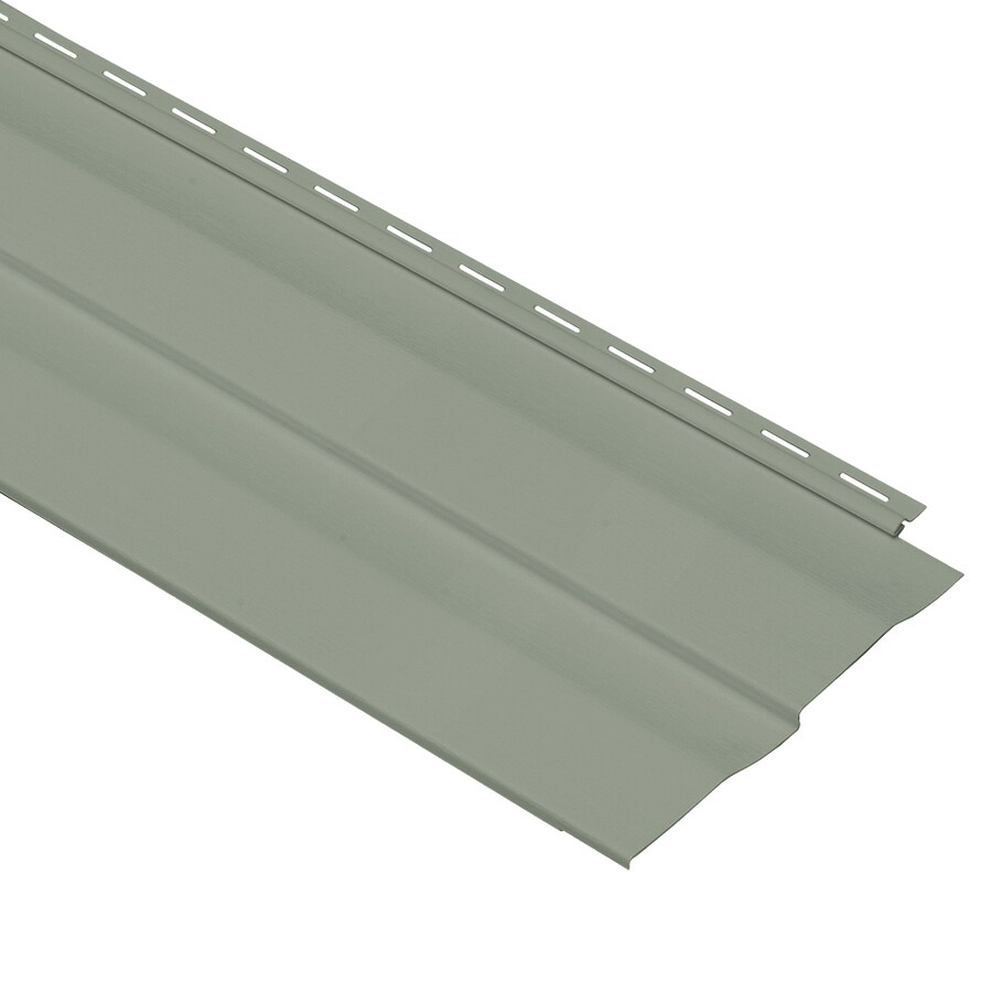Georgia-Pacific Vinyl Siding Panel Double 5 Dutch Lap Sagebrook 10-in x 144-in