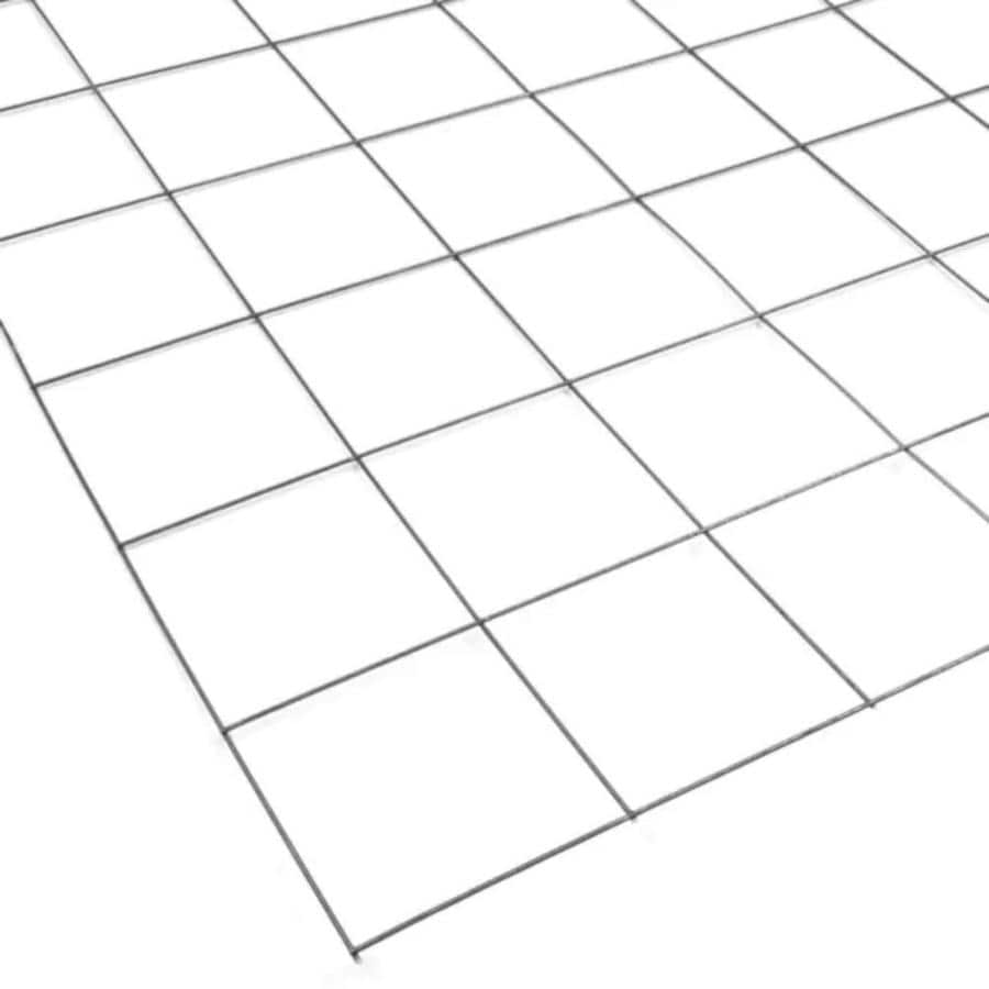 Steel Remesh Sheet (Common: 3.5-ft x 7-ft; Actual: 3.416-ft x 6.93-ft)