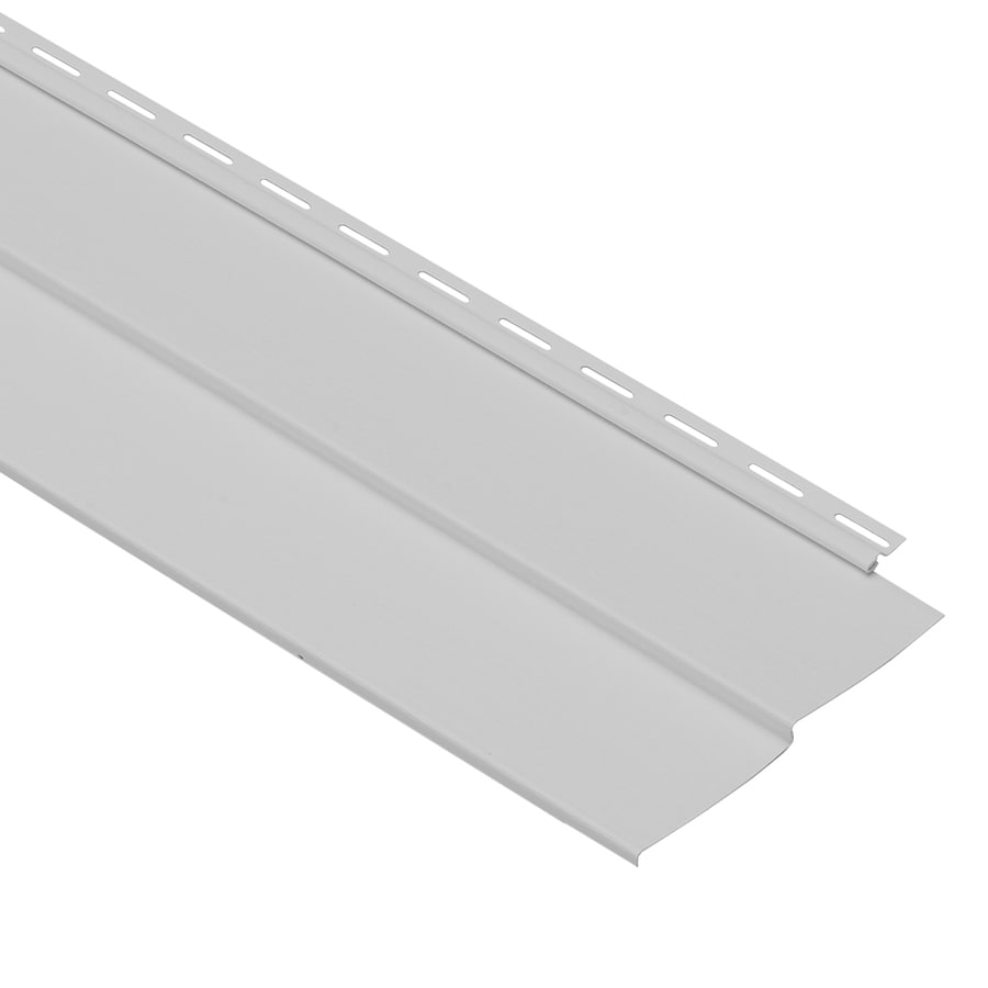 Georgia-Pacific Forest Ridge Vinyl Siding Panel Double 4 Traditional Gray 8-in x 150-in