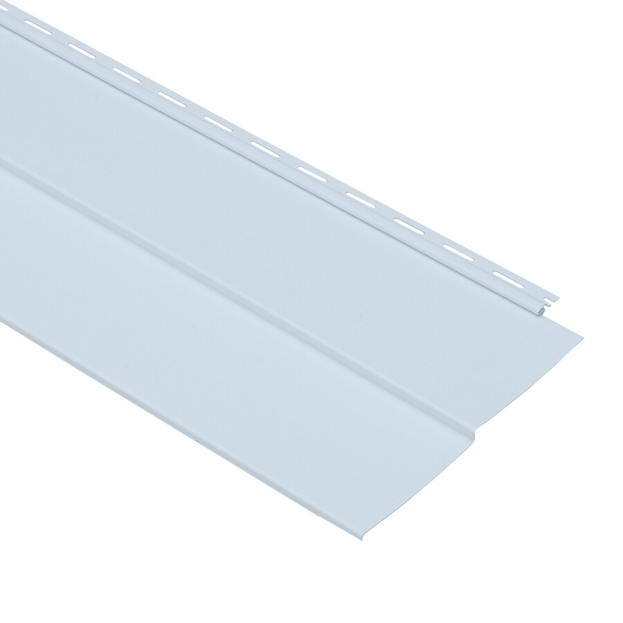 Georgia-Pacific Forest Ridge Vinyl Siding Panel Double 5 Traditional Blue 10-in x 144-in