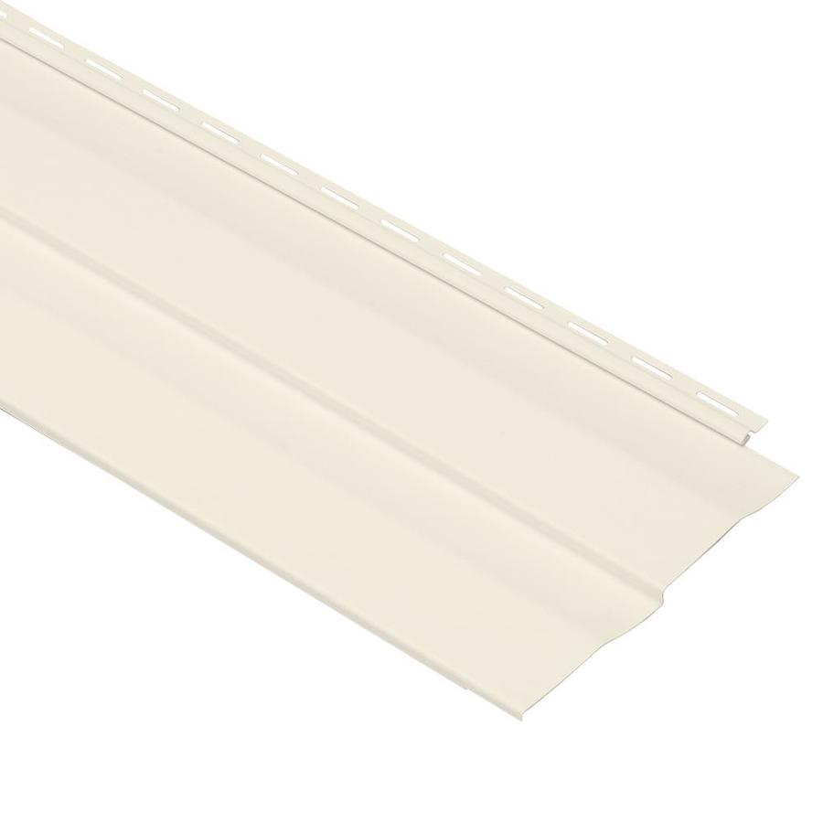 Georgia-Pacific Shadow Ridge Vinyl Siding Panel Double 5 Dutch Lap Pearl 10-in x 144-in