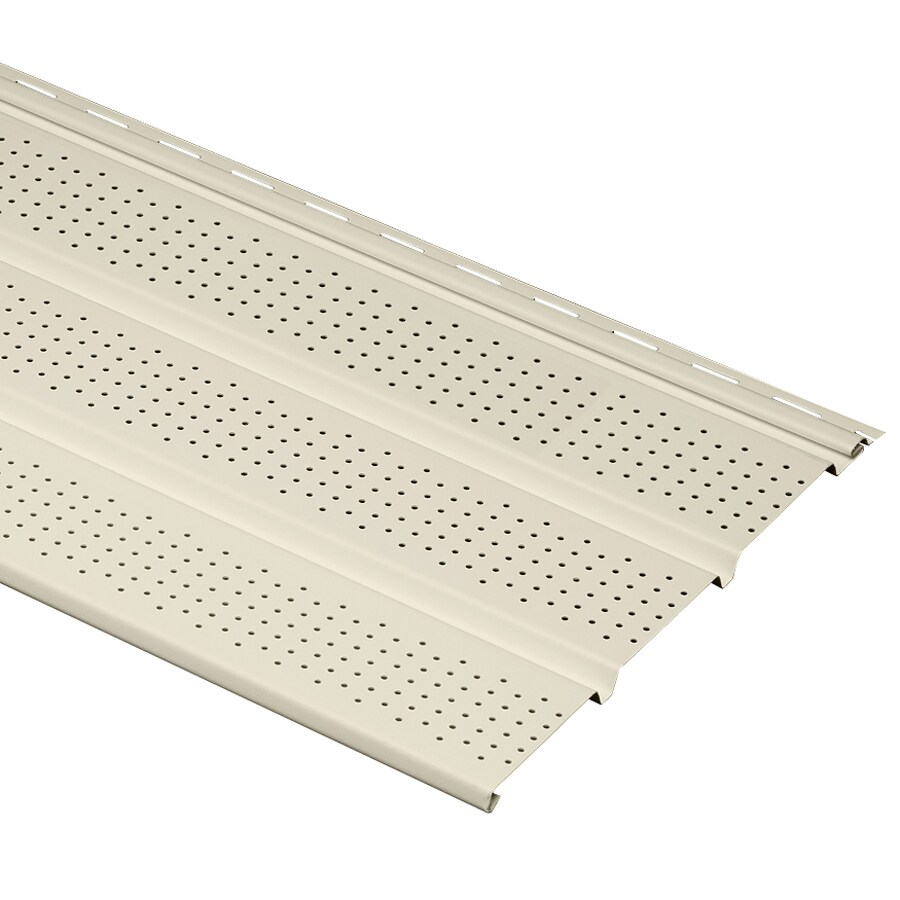 Georgia-Pacific 12-in x 144-in Cream/Pebble Soffit