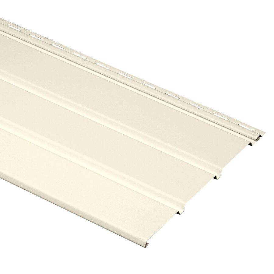 Georgia-Pacific 12-in x 144-in Pearl/Pebble Soffit