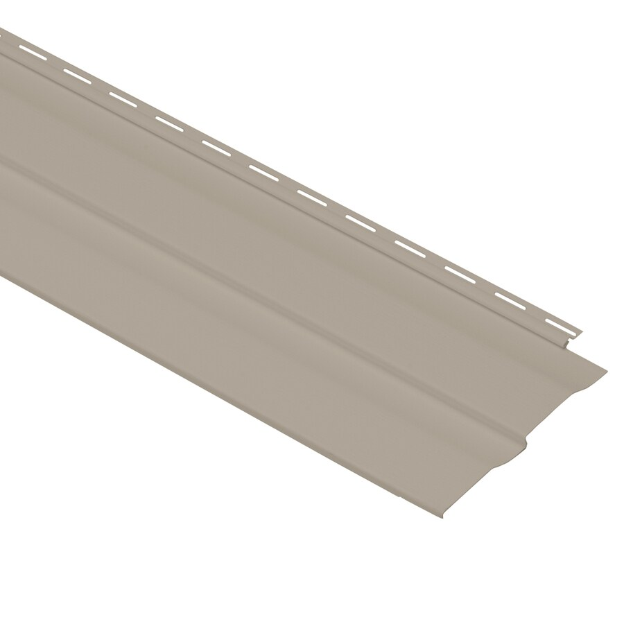 Georgia-Pacific Vision Pro Double 4 Dutch Lap Clay Vinyl Siding Panel 8-in x 150-in