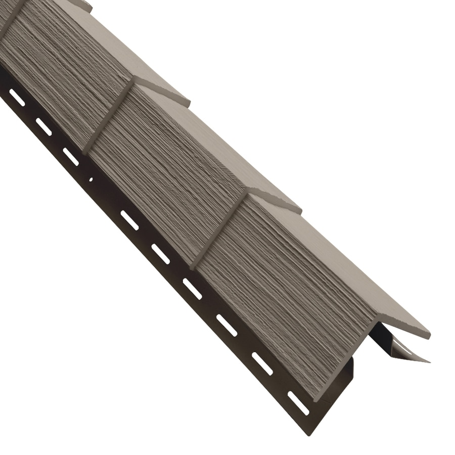 Georgia-Pacific 3.5-in x 29.125-in Clay Outside Corner Post Vinyl Siding Trim