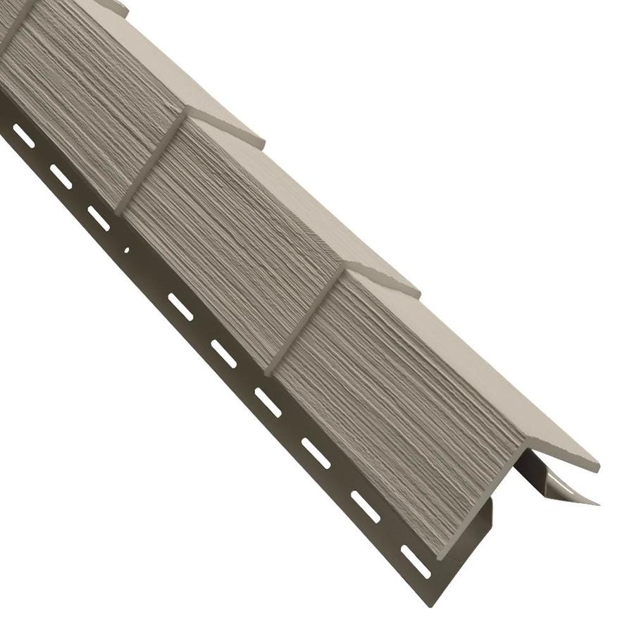 Georgia-Pacific 3.5-in x 29.125-in Tan Outside Corner Post Vinyl Siding Trim