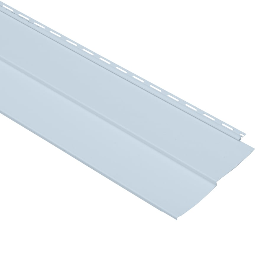 Georgia-Pacific Vision Pro Double 5 Traditional Blue Vinyl Siding Panel 10-in x 144-in