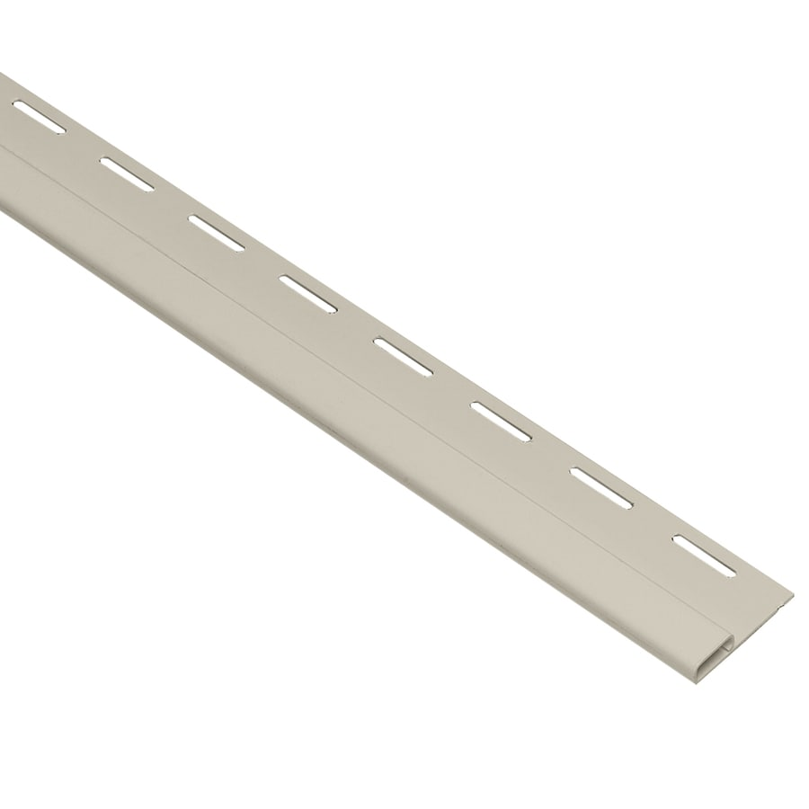 Georgia-Pacific 0.375-in x 150-in Almond Undersill Vinyl Siding Trim