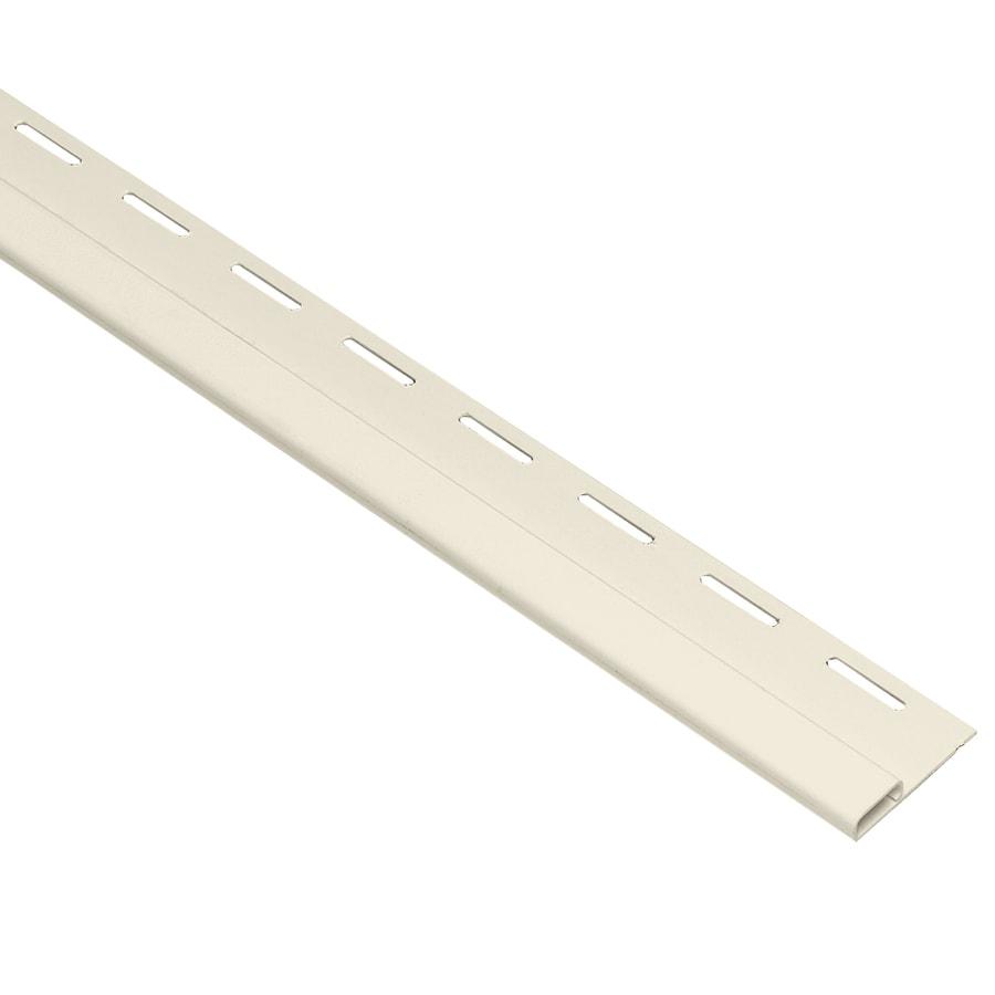 Georgia-Pacific 0.375-in x 150-in Cream Undersill Vinyl Siding Trim
