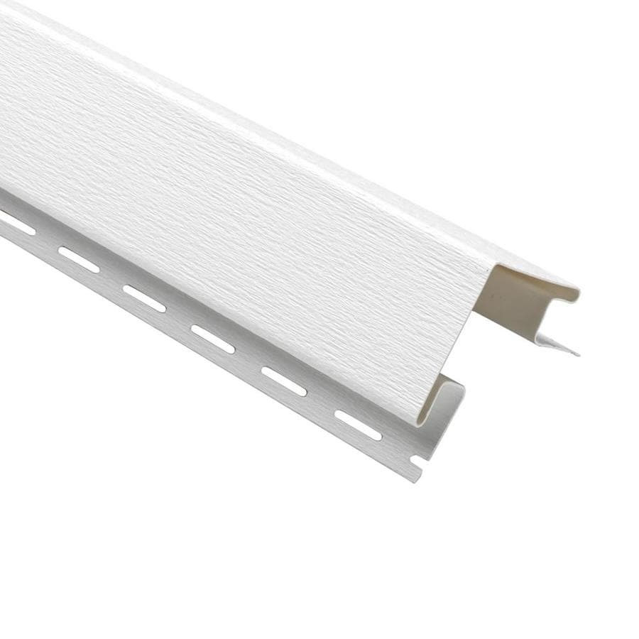 Georgia-Pacific 3-in x 120-in White Outside Corner Post Vinyl Siding Trim