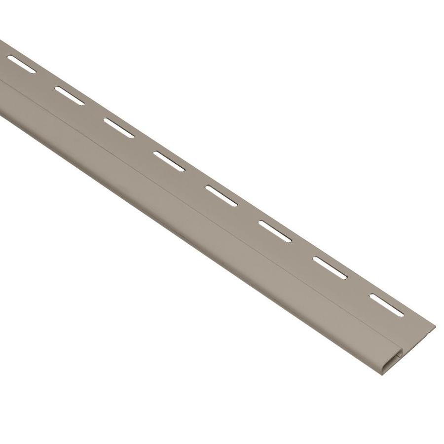 Georgia-Pacific 0.375-in x 150-in Clay Undersill Vinyl Siding Trim