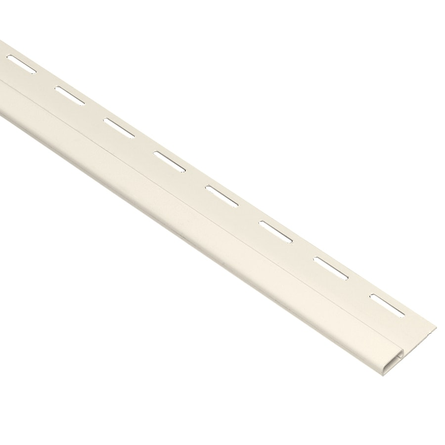 Georgia-Pacific 0.375-in x 150-in Pearl Undersill Vinyl Siding Trim