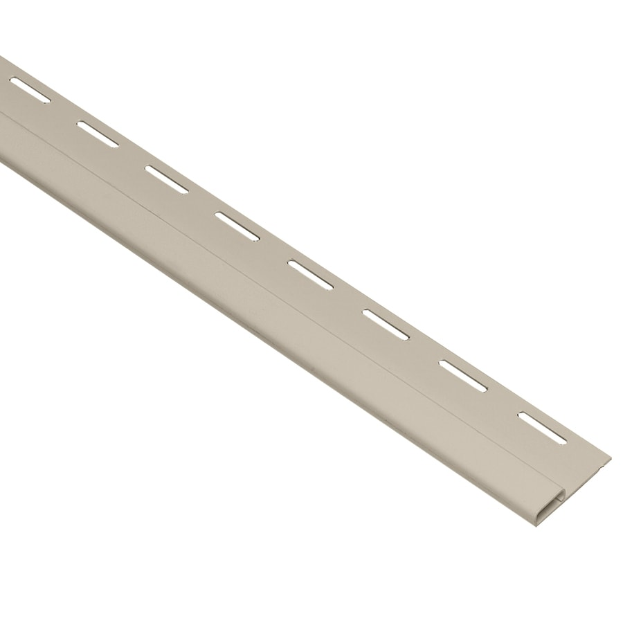 Georgia-Pacific 0.375-in x 150-in Tan Undersill Vinyl Siding Trim