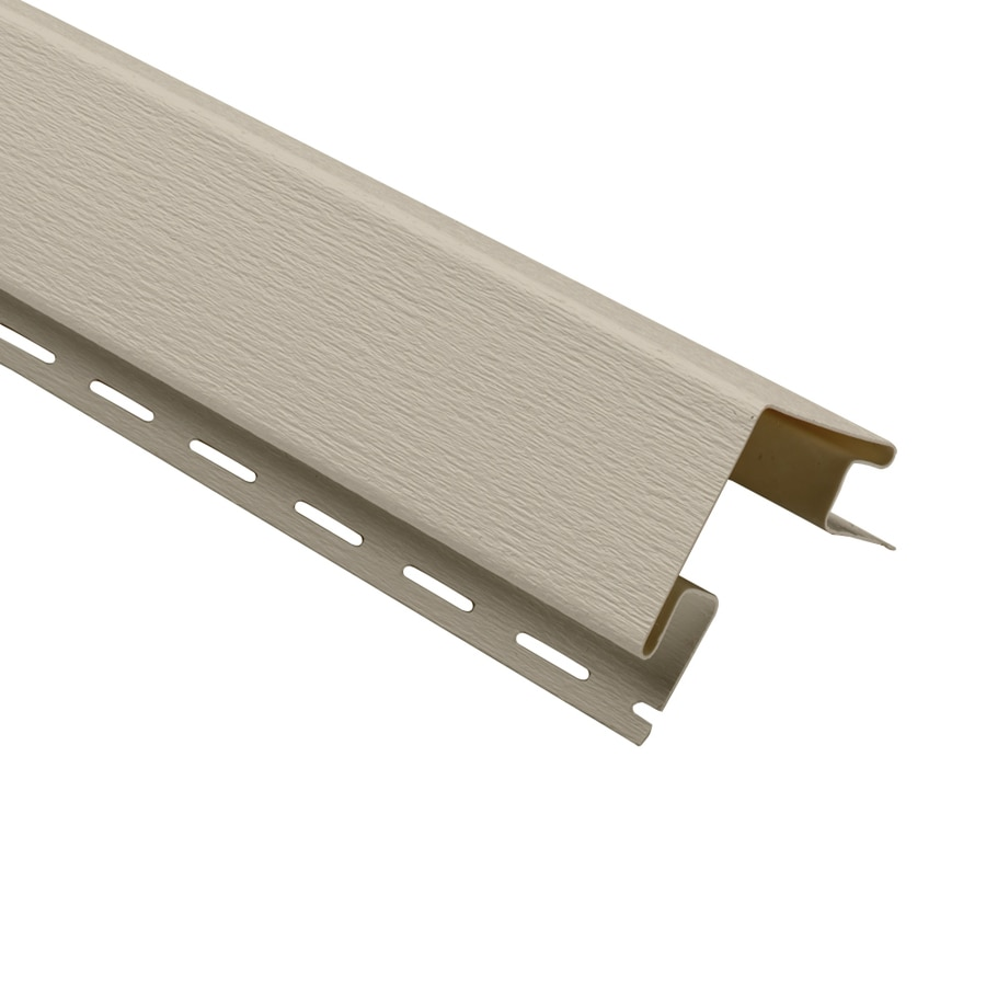 Georgia-Pacific 3-in x 120-in Tan Outside Corner Post Vinyl Siding Trim