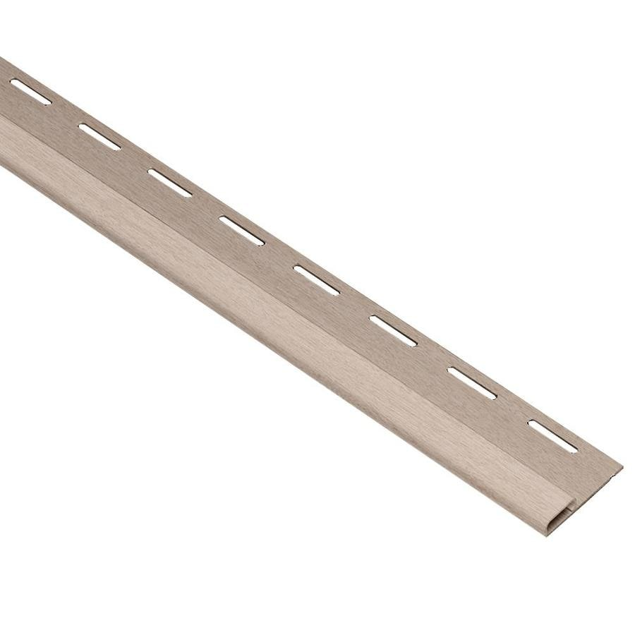 Georgia-Pacific 0.375-in x 150-in Northern Oak Undersill Vinyl Siding Trim