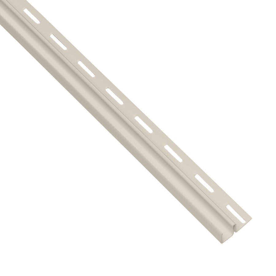 Georgia-Pacific 0.5-in x 150-in Almond F-Trim Vinyl Siding Trim