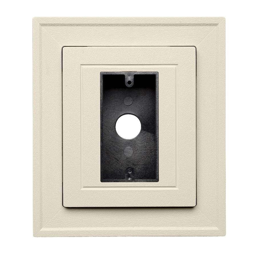 Georgia-Pacific 8.5-in x 7.5-in Cream Vinyl Universal Mounting Block