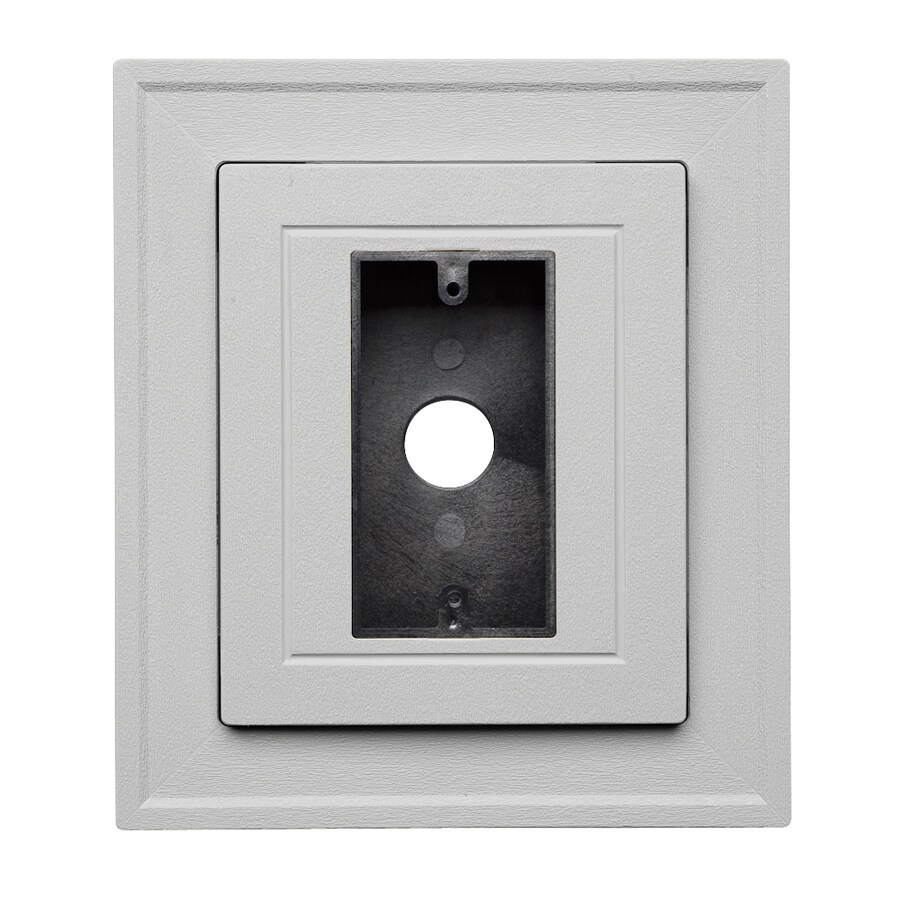 Georgia-Pacific 8.5-in x 7.5-in Gray Vinyl Universal Mounting Block