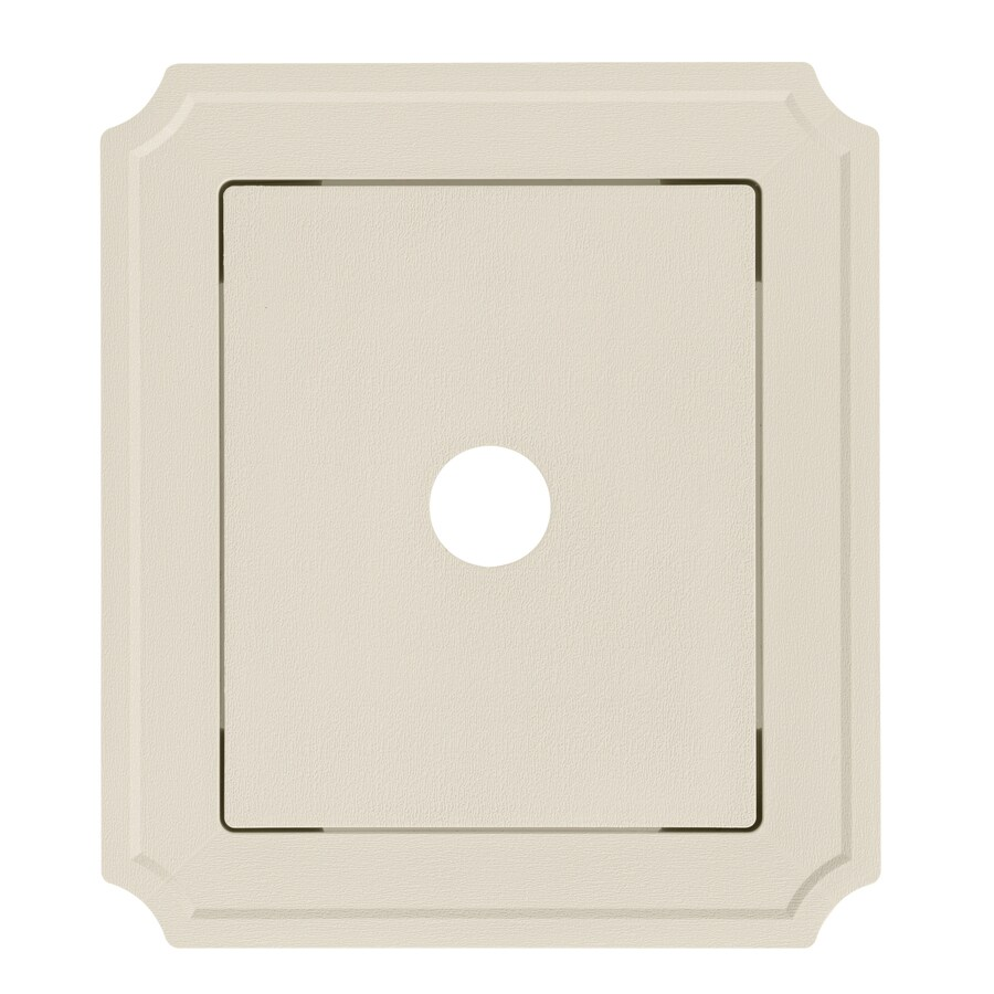 Georgia-Pacific 8.54-in x 7.52-in Almond Vinyl Universal Mounting Block