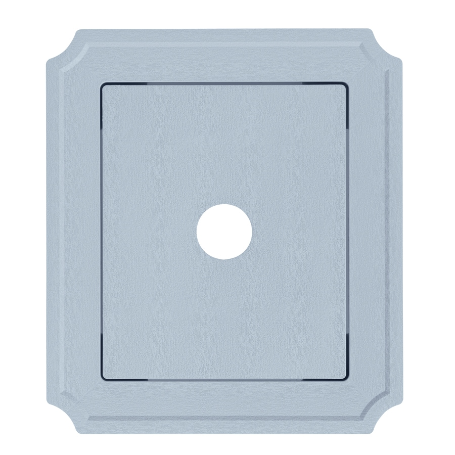 Georgia-Pacific 8.54-in x 7.52-in Blue Vinyl Universal Mounting Block