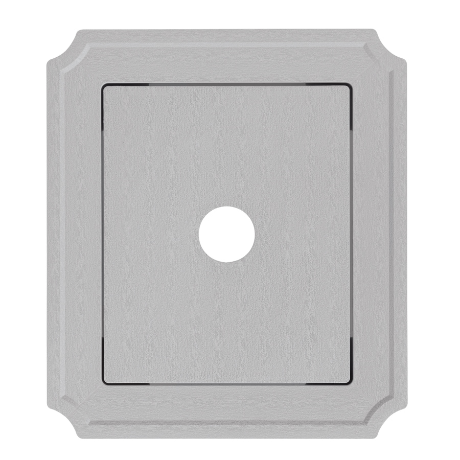 Georgia-Pacific 8.54-in x 7.52-in Flint Vinyl Universal Mounting Block