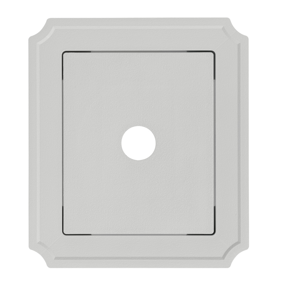 Georgia-Pacific 8.54-in x 7.52-in Gray Vinyl Universal Mounting Block