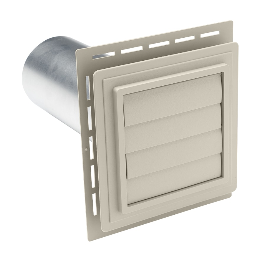 4-in Dia Plastic R2 Exhaust Dryer Vent Hood at Lowes.com